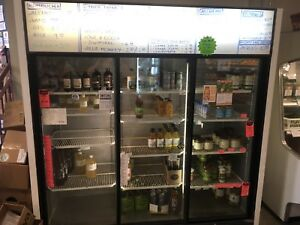 3 door commercial/retail fridge/cooler (WEFC)