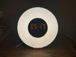 Light Sunrise Alarm Clock for Heavy Sleepers, with Natural Sounds, LED