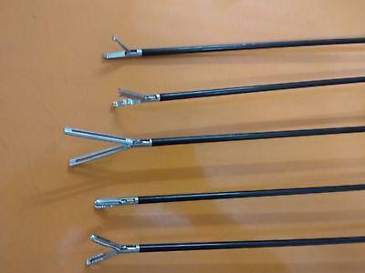 Laparoscopic Grasper Grasping Forceps Set 5 Mm X 330 Mm 5 Pcs