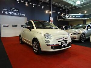 2015 Fiat 500c LOUNGE / CONVERTIBLE / BEATS BY DRE