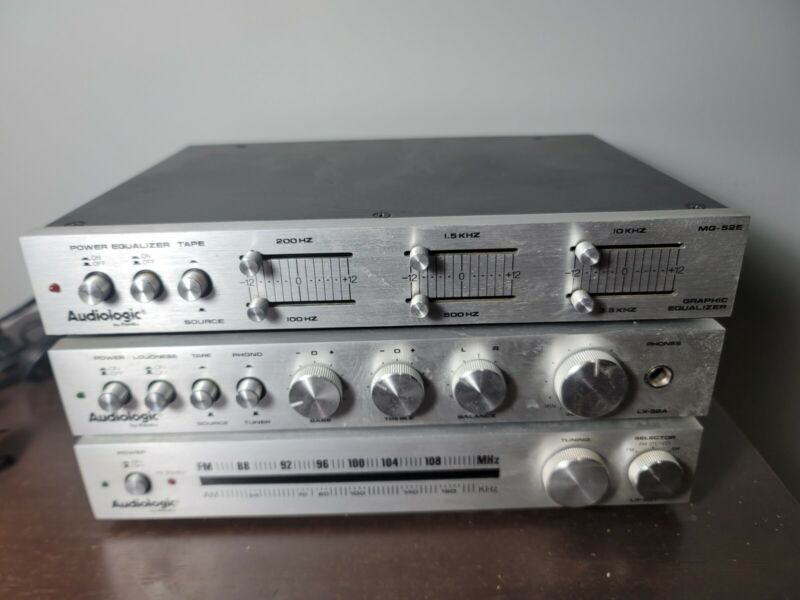 Vintage Audiologic LX-40T And LX-40A
