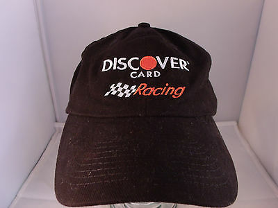 Nascar Discover Card Racing Number 26 Ball Cap Hat Black  New