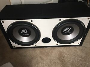 Subwoofers $400 OBO