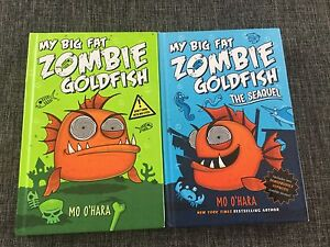 My big  fat zombie goldfish book and the sequel