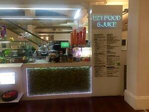 EZY CAFE AND JUICE BAR FOR SALE Sydney City Inner Sydney Preview
