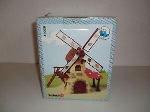 Schleich Schlumpf  Schlumpfhof Windmühle  49020 Neu Ovp