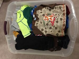 Baby boy clothes age 6 months.
