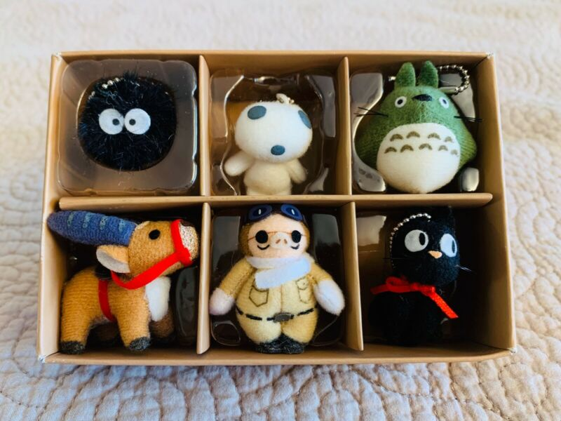 Japan Anime Studio Ghibli Collection Totoro mascot Strap charm Key holder