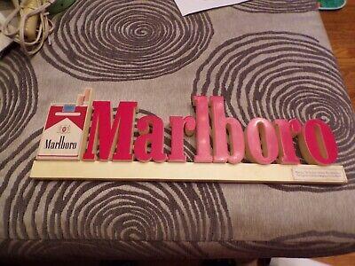 VTG Marlboro Plastic Store Sign