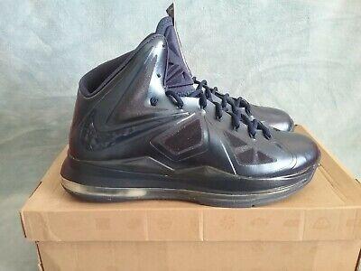 Nike LeBron X ID Navy Blue  578346-992 Size 12