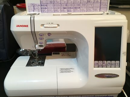 Janome CoverPro 1000CPX | Sewing Machines | Gumtree Australia ...