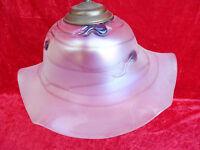 Bella ,vecchio Lampada__vetro__carne__lampada Soffitto__41cm__ -  - ebay.it