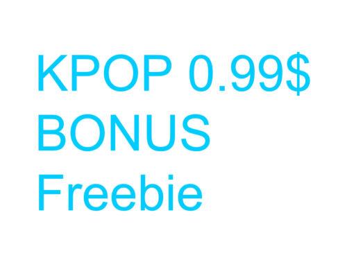 0.99$ Bonus , Extra ,Benefit album  Ver 3.1 (2020)