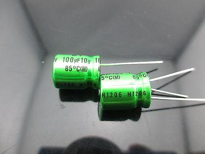 Japan 23pcs Nichicon Muse Es Bp 100uf 10v 100mfd Audio Capacitor Caps