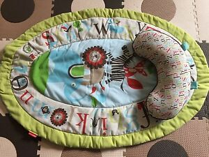 Baby Mat with Support Pillow