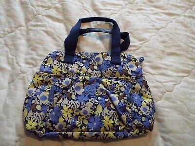 New Medium Ladies Kipling handbag tote bag in blue