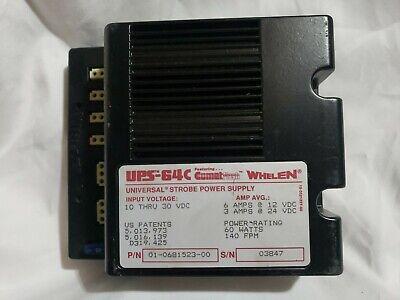 Whelen Ups-64c Universal Strobe Power Supply