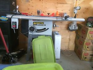 "10"" craftex cx202 table saw  OBO"