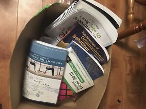First and second year accounting books (HUGE DEAL)