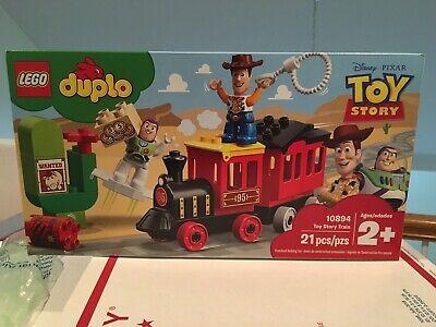 LEGO DUPLO 10894 Disney Pixar Toy Story Train Building Set Woody Buzz Lightyear
