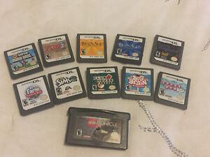 Nintendo DS games x 11