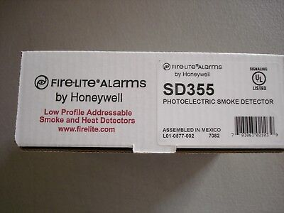 Fire Lite Sd355  New