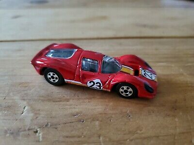 Hot Wheels Ferrari P4 in Red from Ferrari 5PACK Fresh Pull