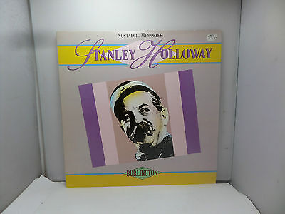 NOSTALGIC MEMORIES STANLEY HOLLOWAY BURLINGTON BUR019  LPs VINYL