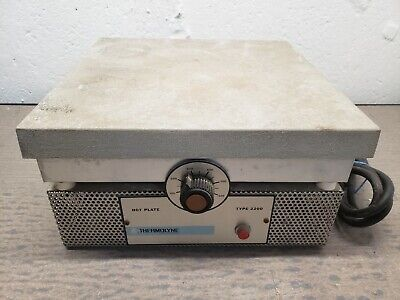 Thermolyne Type 2200 Hot Plate Vintage Lab Equipment Science