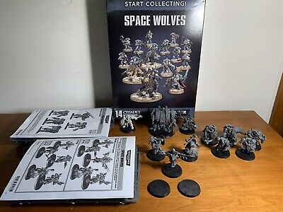 warhammer 40k army Space Wolves