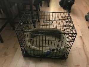 Dog bed and cage