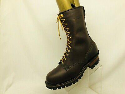 Whites Hathorn Explorer Brown Boot Leather Packer Logger Woodland Men Sz 13.5 FF