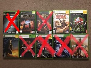 Xbox and Xbox 360 Games - read description for pricing
