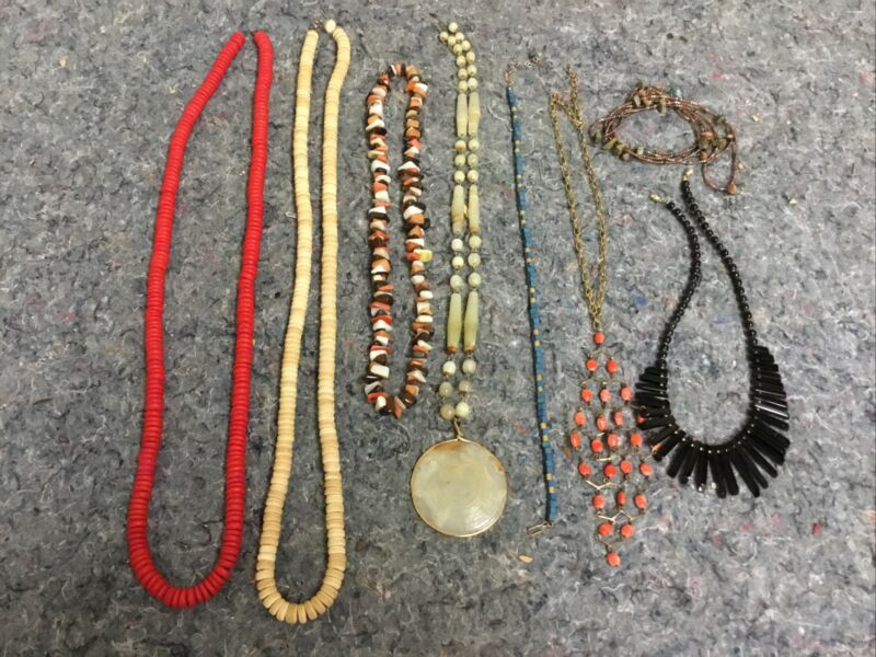 Lot of Costume Jewelry-Beaded Necklaces-Lot B
