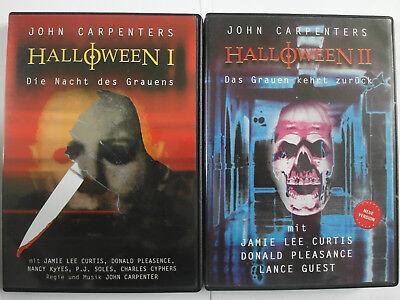+ 2 John Carpenter - Nacht des Grauens - Jamie Lee Curtis (Jamie Lee Curtis Halloween 2)
