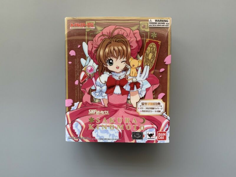S.H. Figuarts Sakura Kinomoto Card Captor Sakura Figure Bandai BOX AS IS