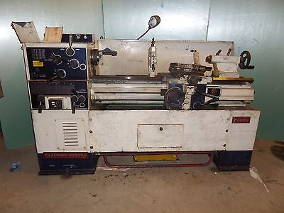 Clausing Metosa C1440s Engine Lathe Metal Cutting 14 Swing Toolroom Video Below