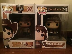 Frodo and Carl Pop! Vinyl figures Morwell Latrobe Valley Preview