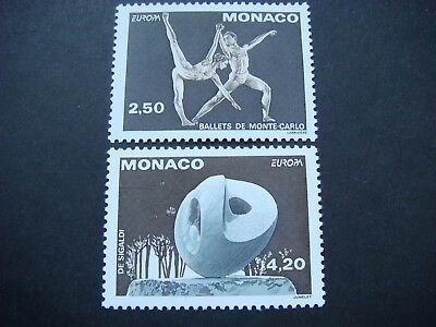 Monaco 1993 Europa Contemporary Art Set of 2 SG 2125-6 MNH Cat £5.65