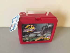 """Collectible Jurassic Park Lunchbox with Recalled """"toxic"""" thermos"""