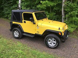 2004 Jeep TJ Sport 4.0L 6 Cylinder *** Mint Condition