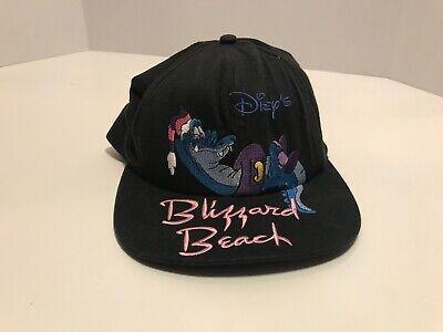 Vtg 90s Disney BLIZZARD BEACH Florida Water Park SNAPBACK HAT Land World Ski (Blizzard Florida)
