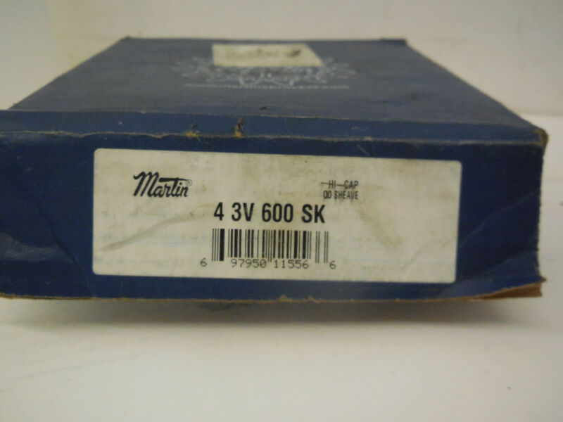 NEW MARTIN  4-3V-600-SK SHEAVE PULLEY 43V600SK