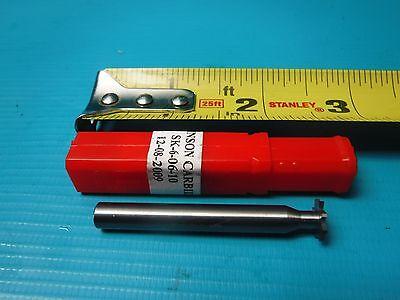 New Johnson Carbide Keyseat Cutters Sk-6-06-10