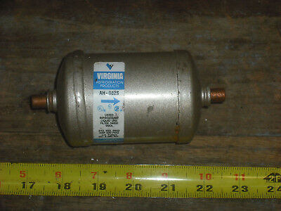 Virginia Refrigeration Products Filter-drier 14 Odf Solder Model Ah-082s