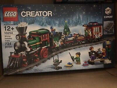 Lego 10254 Christmas CREATOR Winter Holiday Train NEW IN SEALED BOX