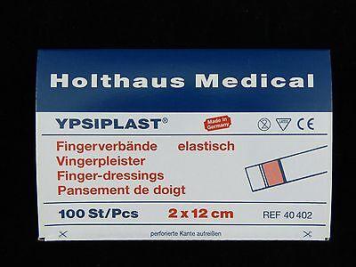 100 x Fingerpflaster Fingerverband Pflaster elastisch YPSIPLAST®  2 x 12 cm Neu