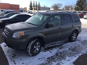2007 Honda Pilot EX-L leather sunroof 3 rd row seating sale