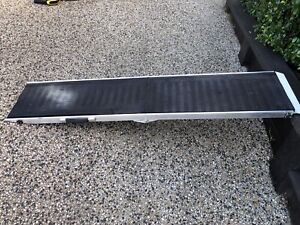 Aluminium heavy duty foldable bike/dog ramp
