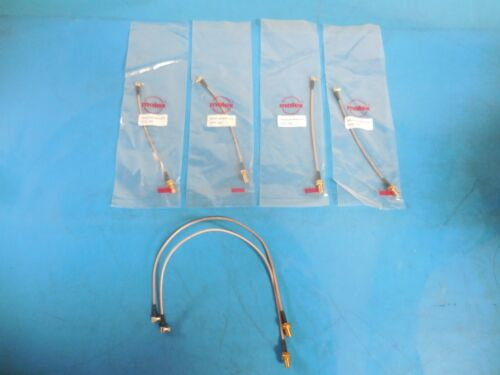 Molex 89761-6770 SMA to MCX Female to Male RG-316 Coaxial Cables (Lot of 6)